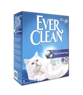 Ever Clean® Multi Crystals Clumping Cat Litter, 6lt, Χωρίς Αρωμα