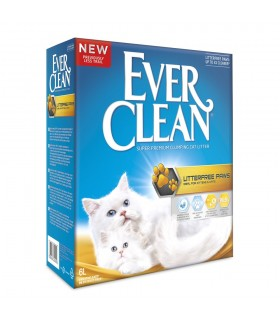 Ever Clean® Litterfree Paws Clumping Cat Litter, 6lt, Αρωματική