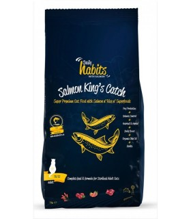 DAILY HABITS SALMON KINGS CATCH CAT FOOD STERILISED/URINARY 15KG